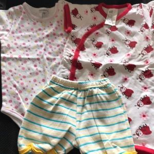 6 to 9 month girl outfit